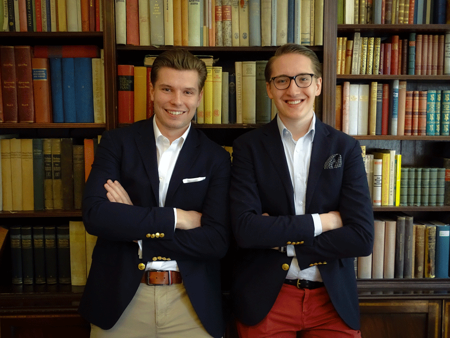Qamqam Gründer Simon Sturm und Maximilian Wilms